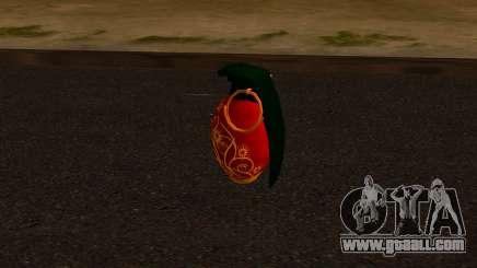 Christmas Pomegranate for GTA San Andreas