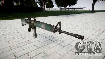 The M16A2 rifle warsaw for GTA 4