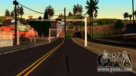 Katana from Shadow Warrior for GTA San Andreas