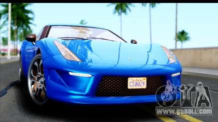 GTA 5 Grotti Carbonizzare v3 for GTA San Andreas