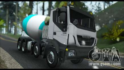 Iveco Trakker 2014 Concrete Snow for GTA San Andreas