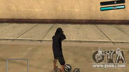 C-HUD Azure for GTA San Andreas