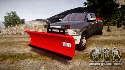 Dodge Ram 3500 Plow Truck [ELS] for GTA 4