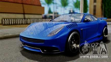 GTA 5 Dewbauchee Massacro Racecar for GTA San Andreas