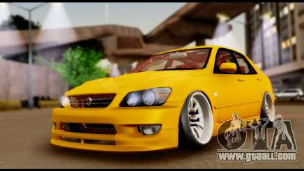 Toyota Altezza Street 2004 for GTA San Andreas