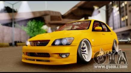 Toyota Altezza Street 2004 for GTA San Andreas