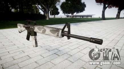 The M16A2 rifle yukon for GTA 4