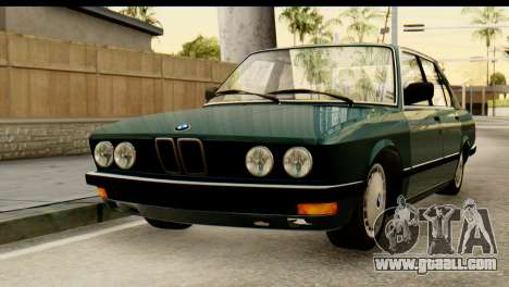 BMW M5 E28 Edit for GTA San Andreas