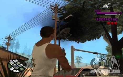 C-HUD by LoMoKo for GTA San Andreas forth screenshot