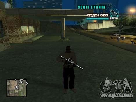 C-HUD Cosmos for GTA San Andreas