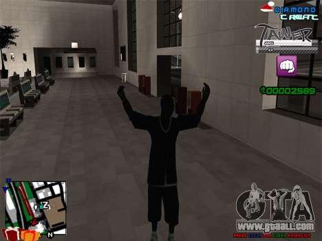 C-HUD TAWER by Vitya for GTA San Andreas third screenshot