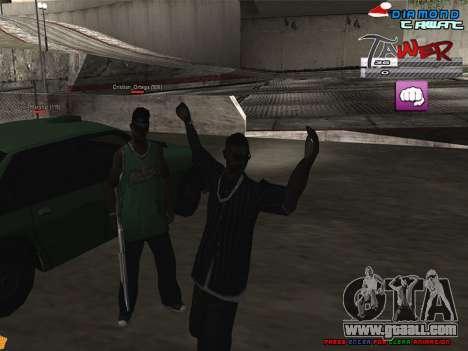 C-HUD TAWER by Vitya for GTA San Andreas second screenshot