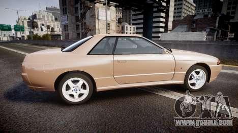 Nissan Skyline R32 GT-R 1993 for GTA 4 left view