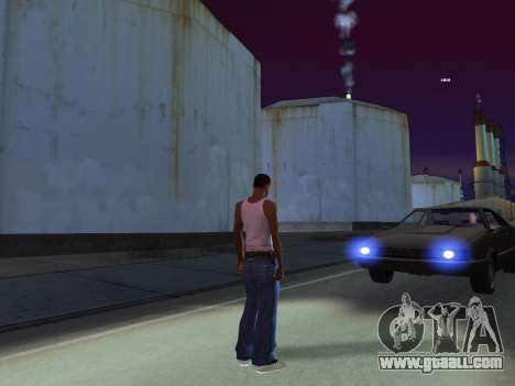 ENB for low PC by RonaldZX for GTA San Andreas forth screenshot