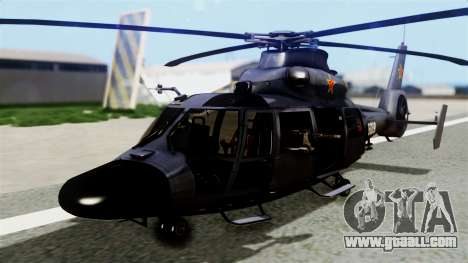 Harbin Z-9 BF4 for GTA San Andreas