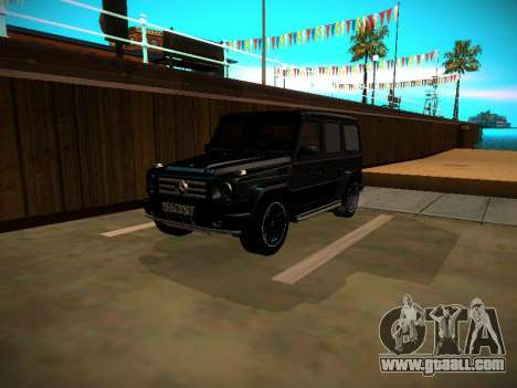 Mercedes-Benz G500 Bluetec 2014 for GTA San Andreas