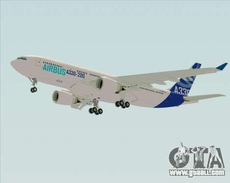 Airbus A330-200 Airbus S A S Livery for GTA San Andreas right view