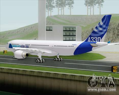 Airbus A330-200 Airbus S A S Livery for GTA San Andreas