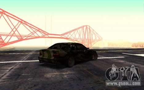 BMW M3 E36 Hunter for GTA San Andreas left view