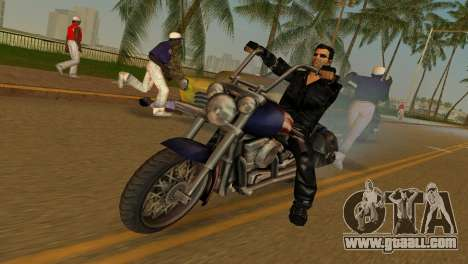 Tommi Black Skin for GTA Vice City second screenshot