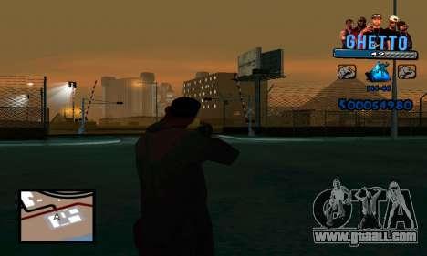 C-HUD Gangster for GTA San Andreas