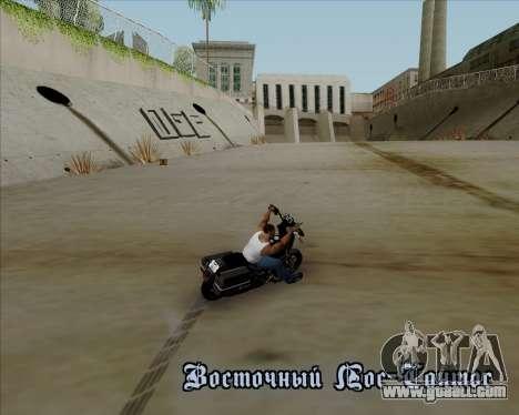 Harley-Davidson FXD Super Glide T-Sport 1999 for GTA San Andreas upper view