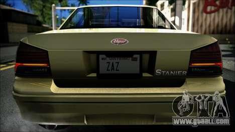 Civillian Vapid Stanier II from GTA 4 for GTA San Andreas