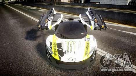 McLaren P1 2014 [EPM] Ken Block for GTA 4 inner view