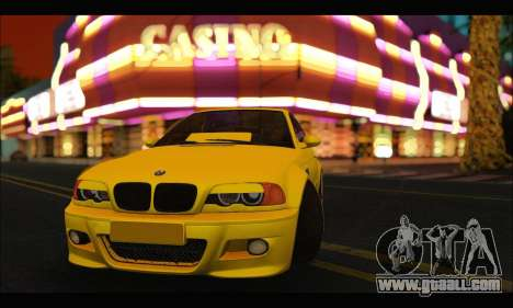 BMW M3 Coupe Tuned for GTA San Andreas