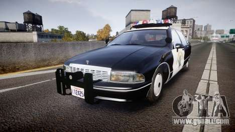 Chevrolet Caprice Highway Patrol [ELS] for GTA 4