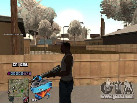 C-HUD Heart for GTA San Andreas seventh screenshot
