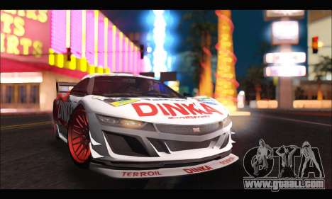 Dinka Jester Racear (GTA V) for GTA San Andreas right view