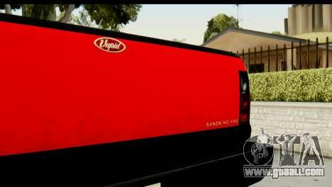 GTA 5 Vapid Sandking SWB for GTA San Andreas back view