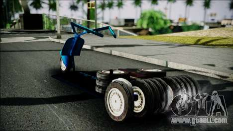 Vespa Gembel Extreme for GTA San Andreas left view