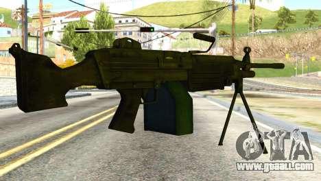 M16 from Global Ops: Commando Libya for GTA San Andreas second screenshot