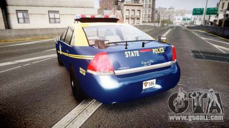 Chevrolet Impala West Virginia State Police ELS for GTA 4