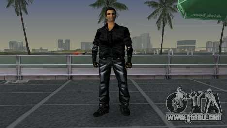 Tommi Black Skin for GTA Vice City third screenshot