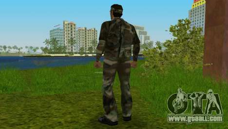 Original VC Camo Skin for GTA Vice City forth screenshot