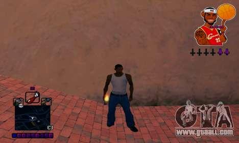 C-HUD Basketball for GTA San Andreas