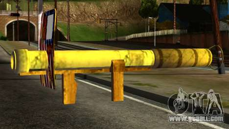 Firework Launcher from GTA 5 for GTA San Andreas