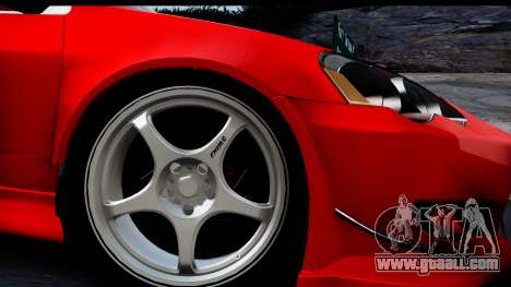 Honda Integra Type R Time Attack HQLM for GTA San Andreas back left view