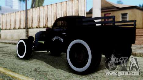 Hot-Rod In Russian for GTA San Andreas left view