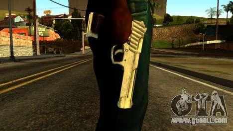 Desert Eagle from GTA 5 for GTA San Andreas third screenshot