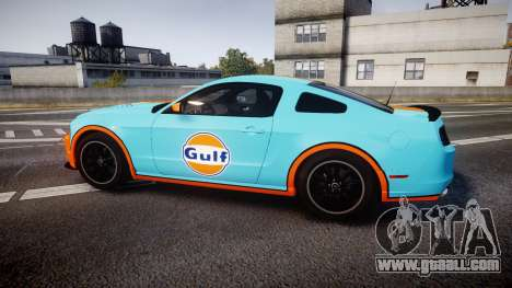 Ford Mustang Boss 302 2013 Gulf for GTA 4 left view