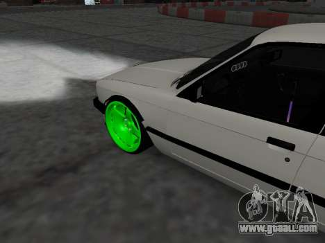 BMW M3 E30 Drift for GTA San Andreas right view