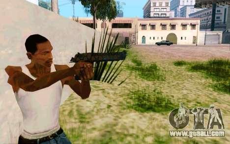Desert Eagle (Dodgers) for GTA San Andreas third screenshot