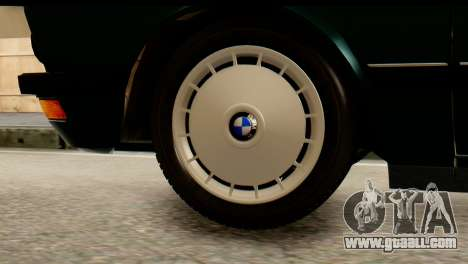 BMW M5 E28 Edit for GTA San Andreas back left view