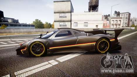Pagani Zonda Revolution 2013 for GTA 4 left view