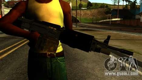 Combat MG from GTA 5 for GTA San Andreas third screenshot
