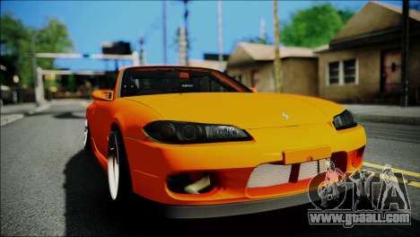 Nissan Silvia S15 Varietta for GTA San Andreas right view